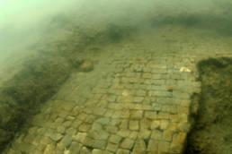 mosaici sommersi in laguna di Marano; Museo Archeologico della Laguna di Marano, museo della laguna