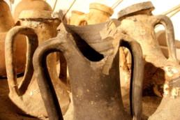 anfore romane da vino; Museo Archeologico della Laguna di Marano
