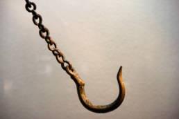 catena e gancio di stadera romana