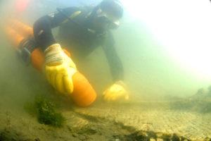 mosaico subacqueo nella laguna di Marano; Museo Archeologico della Laguna di Marano; Museo laguna; MuLa, museo della laguna