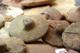 tappi di anfore romane; Museo Archeologico della Laguna di Marano, museo della laguna